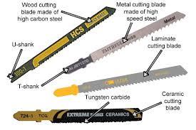 jigsaw blade types. jigsaw blade types e