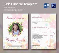 Funeral Templates Free Beauteous Funeral Pamphlet Template Free WERAZ