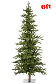 outdoor fake trees alpine mountain fake tree 8 lit clear led lights bulb metal stand tree season winter autumn home outdoor outdoor plastic