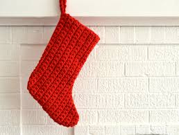 Crochet Stocking Pattern Fascinating Crochet Christmas Stocking Tutorial The Sewing Rabbit