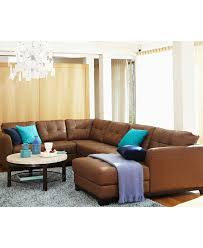 Leather Sectional Living Room Martino Leather Sectional Living Room Furniture Sets Pieces