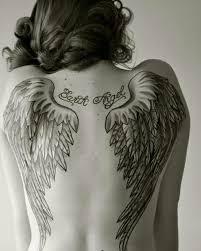 Angel Wings Back Angels Wings Tattoo Tetování Na Zádech