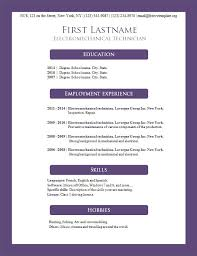 ... Free resume cv template #160 ...