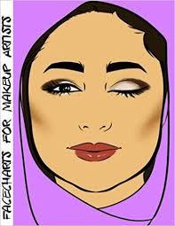 facecharts for makeup artists sa blake anderson 9781544954639 amazon books