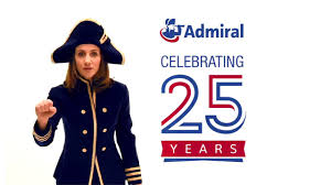 happy 25th birthday to admiral insurance
