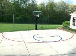 basketball court paint basketball court painting utah