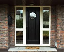 palladio viking black door and cream frame
