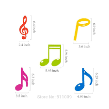30pcs Set Pvc Music Theme Decorations Musical Note Cards Hanging Swirl Birthday Wedding Notes Diy Party Supplies For Home Xl056