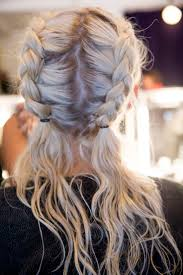 Pigtails Hair Style double french plaits gypsy hairstyles coachella and gym 1563 by wearticles.com