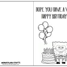 free childrens birthday cards free printable kids birthday cards fieldstation co pertaining to