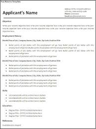 View Resumes Online For Free Magnificent View Resumes Online For Free Unique Free Curriculum Vitae Blank