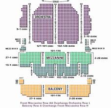 Fitzgerald Theater Seating Chart Valid Seating Chart For Palace Theater Columbus Palace