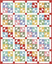 Free Quilt Pattern - Color Wheel Free Quilt Pattern | Fat Quarter Shop & Color Wheel Quilt Pattern and Quilt Kit Adamdwight.com
