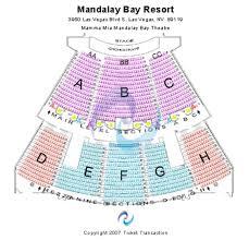 Mandalay Theater Seating Chart Mandalay Seating Chart