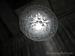 Plastic Cup Light Fixture Design Megillah Plastic Cup Chandelier