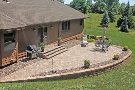 raised patio pavers. Landscaping \u0026 Paver Patio Installation Bright Green Raised Pavers