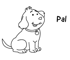 Small Picture Puppy Pals Coloring Pages Coloring Coloring Pages