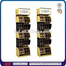 Bar Bottle Display Stand Tsdw100 Custom Retail Store Promotion Wooden Beer Display Stand 46