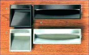 recessed cabinet pulls. Plain Pulls Flush Mount Drawer Pull Recessed Pulls  Cabinet   On Recessed Cabinet Pulls