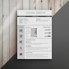 Modern Resume Color Infographic Resume Template Venngage