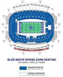 Uk Football Stadium Seating Chart 18 Organized Commonwealth Stadium Kentucky Seating Chart