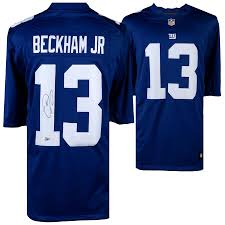 Giants Odell Nike York Jersey Autographed Jr New Blue Limited Beckham bfbaedebeacd|How Nicely Do You Know Your Information About Football Teams?