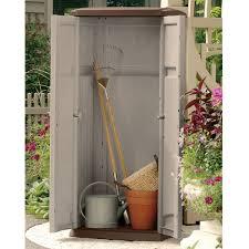 Outdoor Storage Cabinets With Doors Storage Appealing Wooden Outdoor Storage Cabinet With Single Door