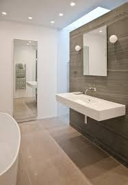 nice sink, nice tub Skylight in bathroom, Rundell Associates, Remodelista
