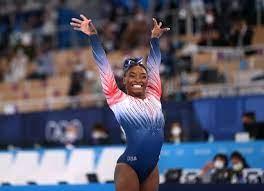 Simone Biles Takes the Bronze