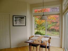 transom windows offering additional light