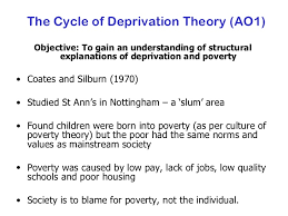 sociologyexchange co uk shared resource the cycle of deprivation theory