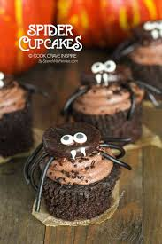 halloween spider cupcakes. Plain Spider Sweet Spider Halloween Cupcakes These Cuties Are Easy To Make And Can Be  Put Atop For Cupcakes