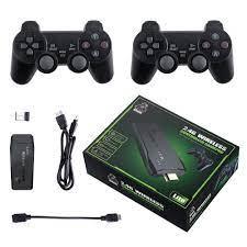 Bộ máy game stick 4K PS3000 tay cầm không dây - Máy chơi game điện tử HDMI  hai người chơi kết nối TV 32G/64G Máy chơi game khác tay cầm joystick -