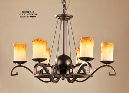 whole light faux candle antique chandeliers