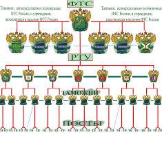 Совершенствование организационной структуры таможенных органов  Р ис