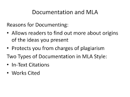Mla Style In Text Citation And Works Cited Page Ppt Download