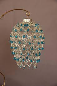 Beaded Christmas Ornaments Patterns Classy Beaded Fancy Fringed Ornament Cover Beadingme Rruzapune Dore