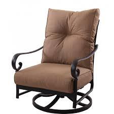 darlee santa anita cast aluminum patio swivel rocker club chair ultimate patio