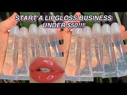 how to start a lipgloss business under