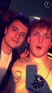 jake and logan paul 2015. Modren Jake New Josh Hutcherson Pictures For Jake And Logan Paul 2015 S