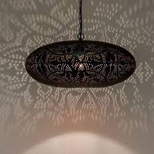 Oosterse Lamp Zwartkoper