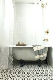 clawfoot bathtub shower curtain excellent great best eclectic rods ideas on in wrap around rod designs