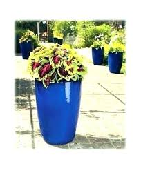 square resin outdoor planters garden extra large planter pots for indoor tall blue egg pot range