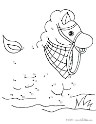 Connect The Dot Coloring Pages Dot To Dot Coloring Pages Packed ...