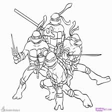 How To Draw Rise Of The Teenage Mutant Ninja Turtles Intended For