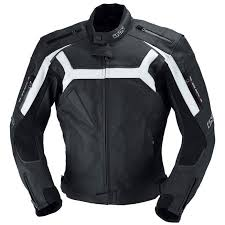 dundrod perforated leather jacket