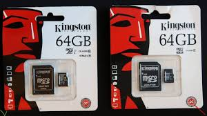 amp; - 64gb Cards Kingston Fake Sd Youtube Micro Genuine