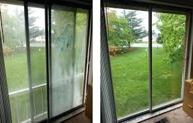 replace sliding glass door with window install pocket security locks how to