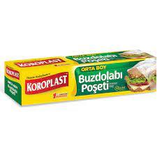 Koroplast Buzdolabı Poşeti Orta Boy 30'lu 24x38 cm Fiyatı