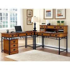 l shaped desks home office. home styles modern craftsman corner lshaped desk with optional mobile file desks at l shaped office